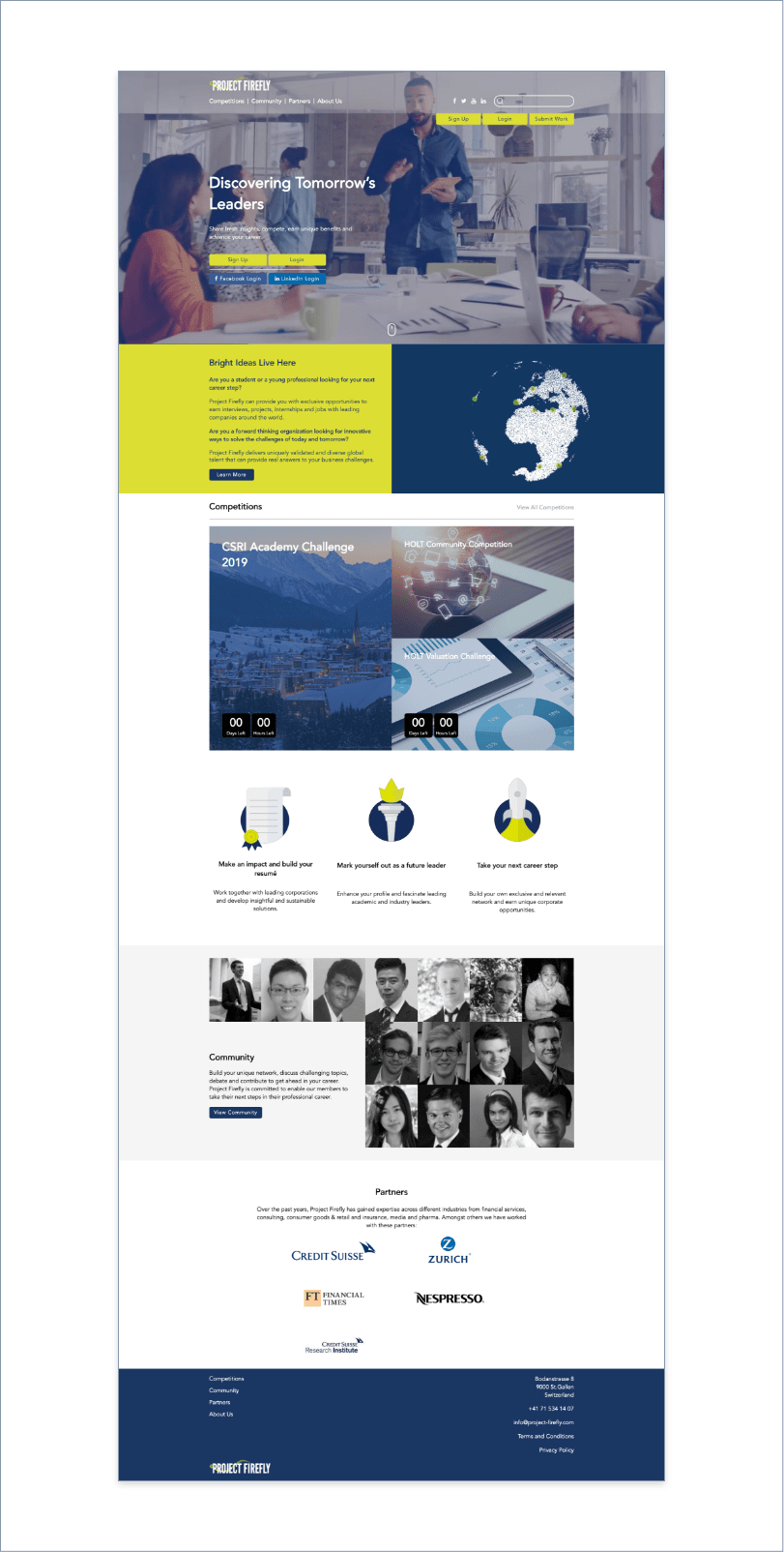 recruitment platform, ICON Worldwide portfolio, Project Firefly